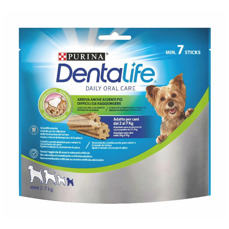 Purina® DENTALIFE® para Perros Mini 69g